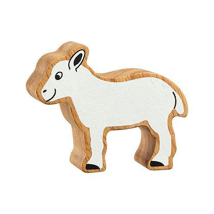 Lanka Kade Natural Wooden White Lamb NC129