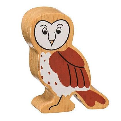 Lanka Kade Natural Wooden Brown Owl NC138