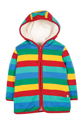 Frugi Reversible Rainbow Snuggle Jacket