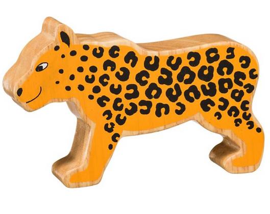 Lanka Kade Natural Wooden Yellow Leopard NC269
