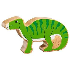 Lanka Kade Natural Wooden Green Iguanodon NC308