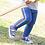 Thumbnail: Kite Organic Rainbow Stripe Joggers