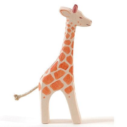 Ostheimer Handmade Wooden Standing Giraffe 21801