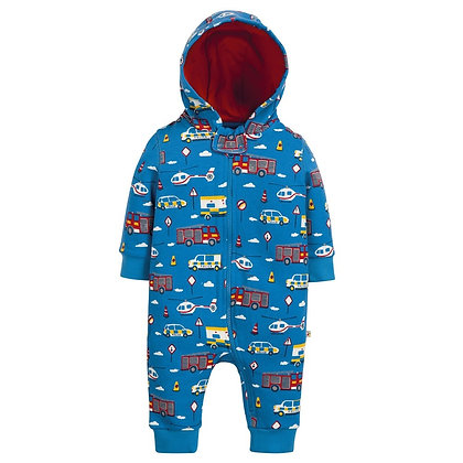 Frugi Snuggle Suit - Save the Day