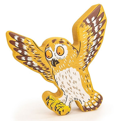 Bajo Mini Wooden Owl