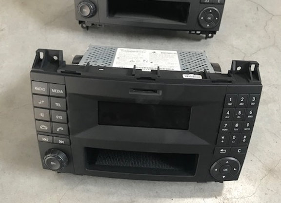 Radio voor Mercedes sprinter
