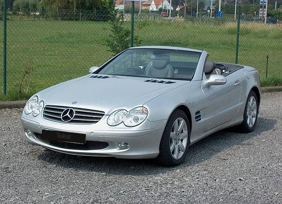 Mercedes SL 500 cabrio