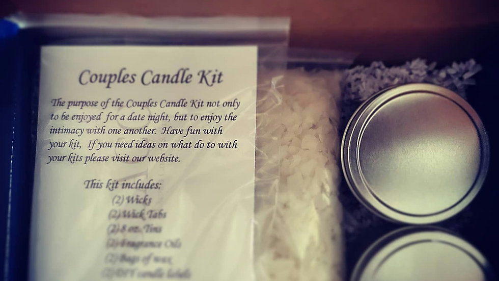 DIY Couples Candle Kit