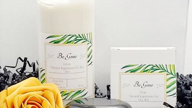 Be Gone Set  {16 oz lotion}