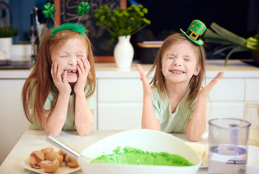 St. Patrick's Day Kids, St. Patricks Day Baking, St. Patrick's Day Recipes, St. Patrick's Day Party Ideas