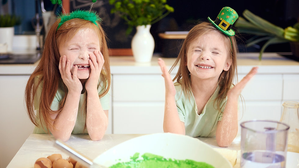 March 16th St Patrick's Day Class for 4th-8th grade