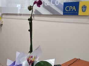 Beautiful orchid from our client
