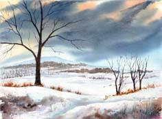 Beneath A Winter Sky