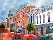 Millersburg Street Scene