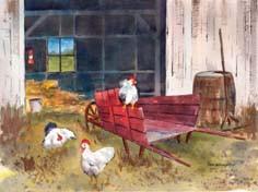 The Red Wheelbarrow