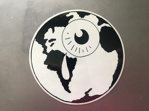 crying world sticker
