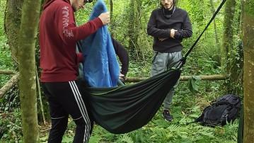Le Crew au camp nature
