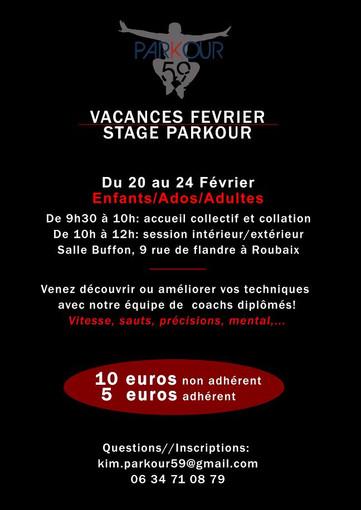 Stage Parkour
