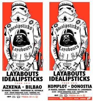LAYABOUTS e IDEALIPSTICKS unen sus fuerzas