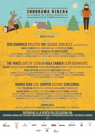 Más confirmaciones y sorpresas para el Sonorama Ribera