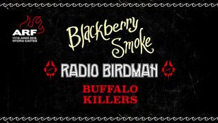 BLACKBERRY SMOKE, RADIO BIRDMAN Y BUFFALO KILLERS PRIMERAS CONFIRMACIONES DEL AZKENA ROCK 2016