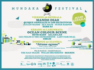 Atractivo cartel para el Mundaka Festival