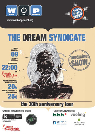 The Dream Syndicate visita Bilbao  en una gira histórica