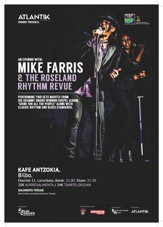 Mike Farris & The Roseland Rhythm Revue en el Kafe Antzokia