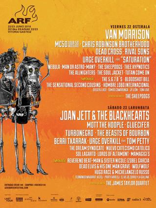 Azkena Rock Festival cierra su cartel con grandes nombres y un homenaje a Tom Petty
