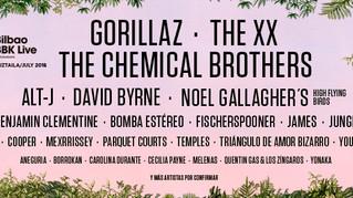 The Chemical Brothers encabezan las nuevas confirmaciones de Bilbao BBK Live 2018