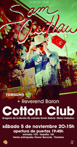 Sam Outlaw en el Cotton Club