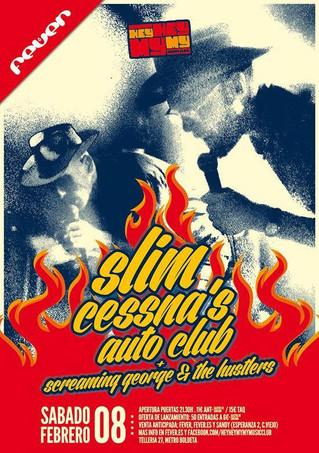 Slim Cessna's Autoclub en la sala Fever