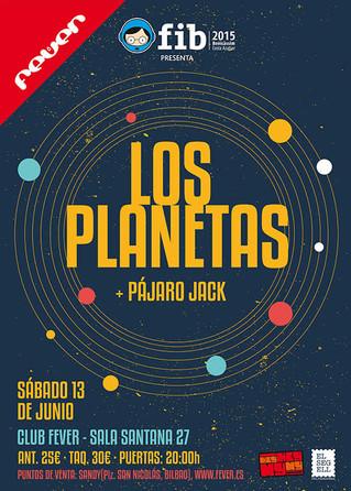 Los Planetas, en Santana 27