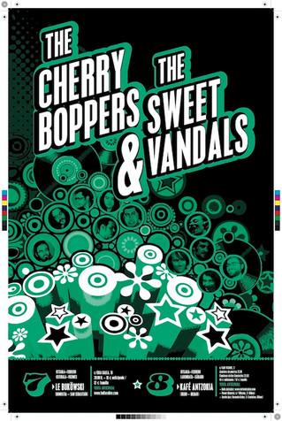 The Cherry Boopers & The Sweet Vandals en el Kafe Antzokia