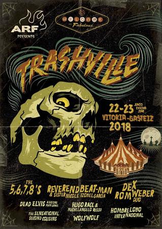 Trashville presenta su programación musical con las propuestas más salvajes de ARF'18