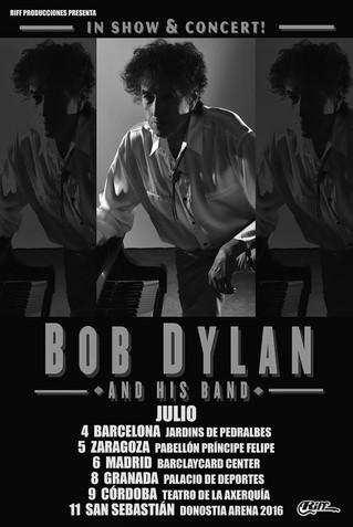 Bob Dylan en Julio