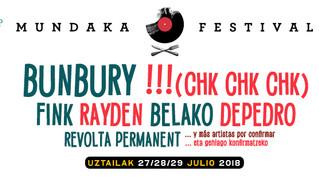 Primeros artistas confirmados para el Mundaka Festival