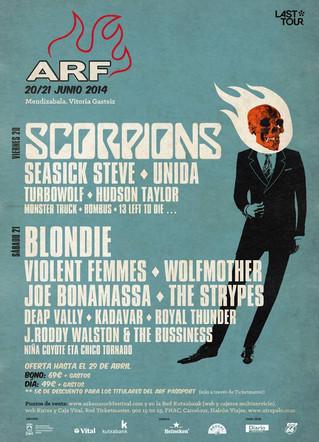 El Azkena Rock Festival anuncia el cartel por días