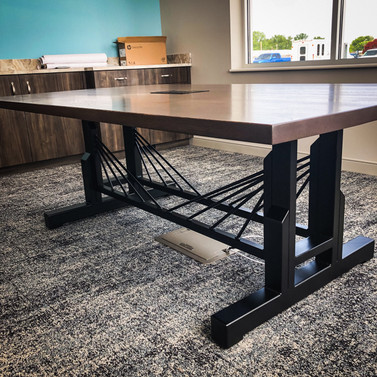 Reclaimed Oak Conference Table