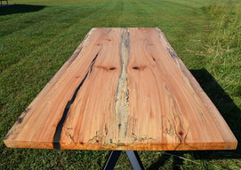 Live Edge Bookmatch Sycamore Dining Table