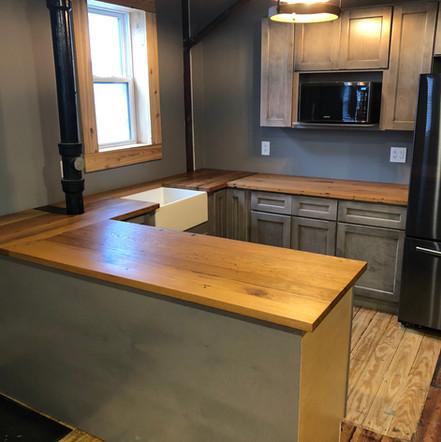 Reclaimed Oak Countertops