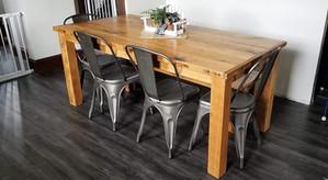 Reclaimed Beech Farmhouse Table
