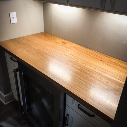 Reclaimed Hickory Counter Top