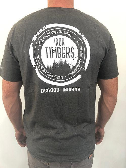 Iron Timbers Carhart T-shirt – Gray