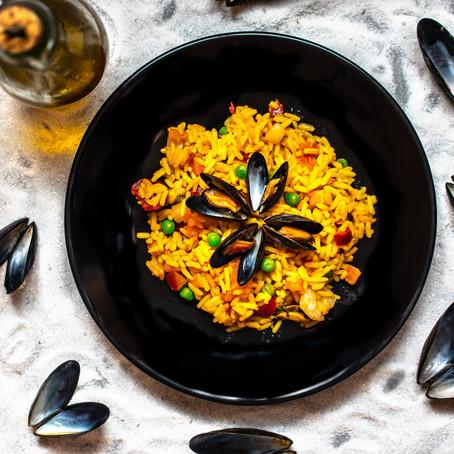 Paella de Mariscos: Increíblemente sencilla receta