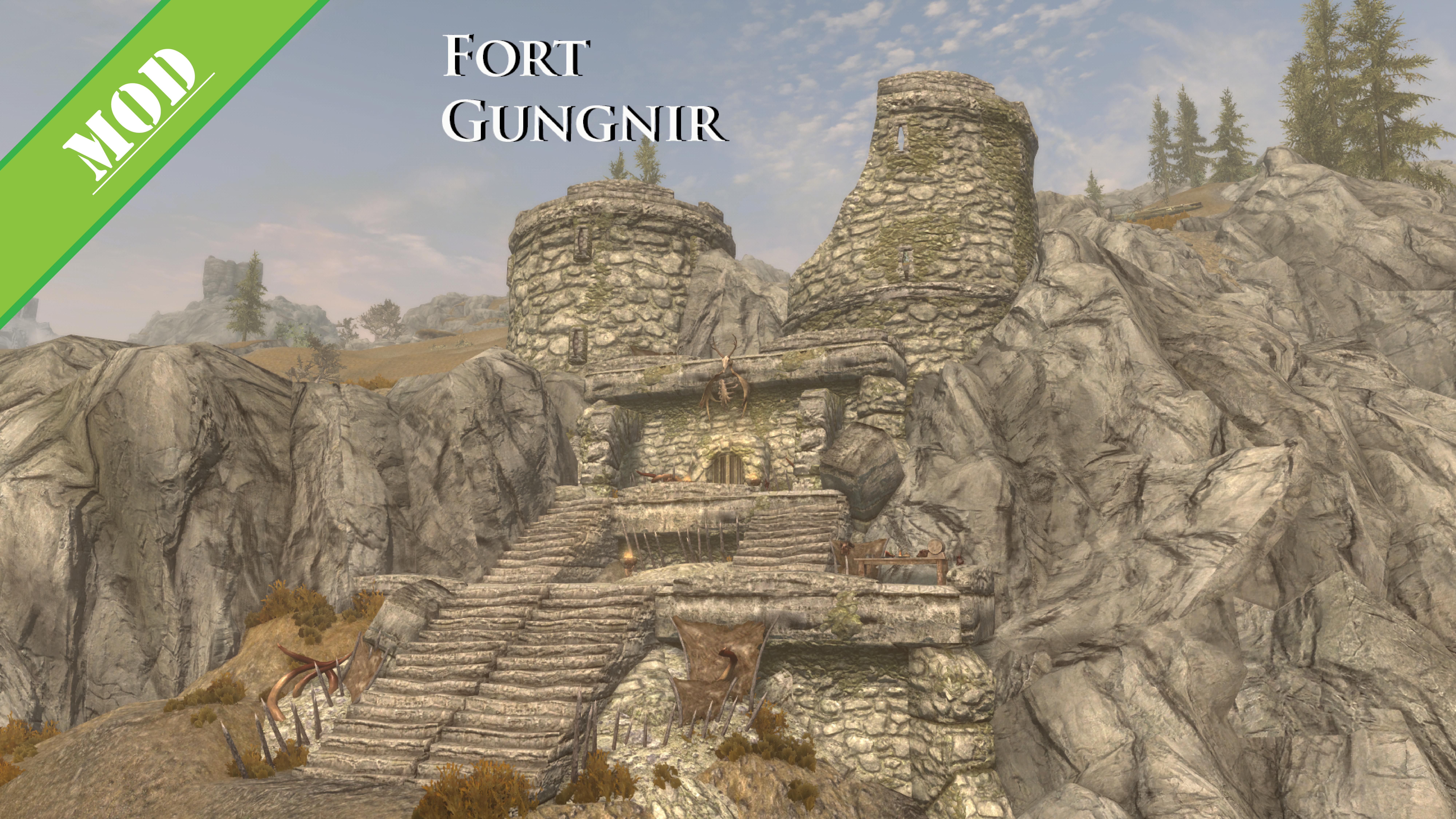 Fort Gungnir - Skyrim Level Mod