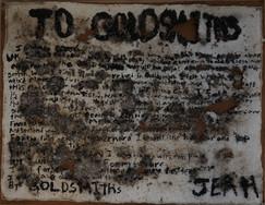 To Goldsmiths