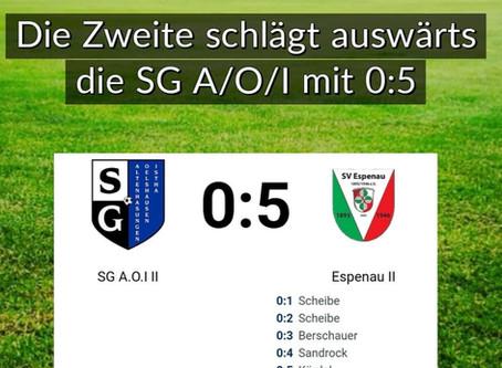 SV Espenau II gewinnt in Altenhasungen