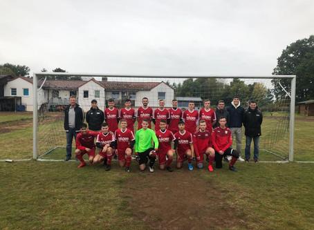 A-Jugend gegen JFV Lichtenau-Großalm. I: 2:1 (1:1)