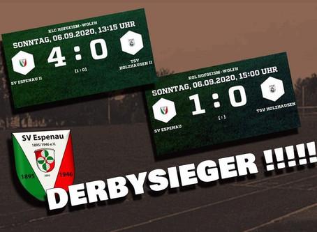 Derbysiege zum Saisonstart für unsere beiden Seniorenmannschaften!